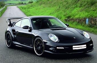 Gemballa построила 550-сильный Porsche 911 Turbo