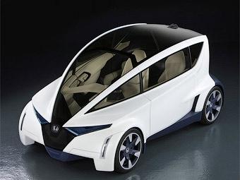 Компания Honda разработала трехместное купе будущего