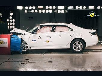 Новый седан Saab 9-5 заработал высшую оценку в краш-тестах Euro NCAP