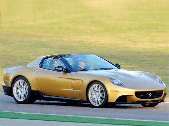Компания Ferrari построила для миллионера уникальный суперкар