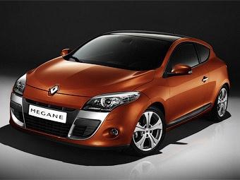 Объявлены российские цены на купе Renault Megane