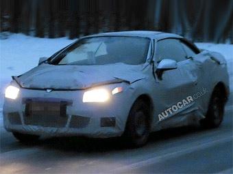 Компания Renault приступила к тестам нового кабриолета Megane