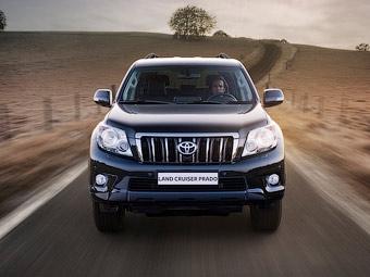 В России начались продажи нового Toyota Land Cruiser Prado