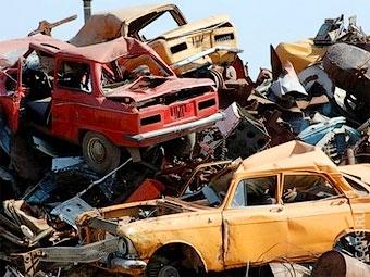 Россиян обяжут платить за сдаваемые в утиль автомобили