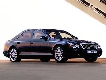 Обновленные лимузины Maybach покажут в 2010 году