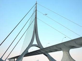 В Коломенском будет построен вантовый мост через Москву-реку