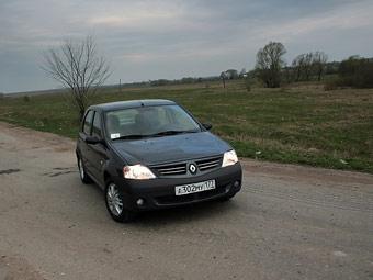 Renault отзывает в России 56 тысяч седанов Logan