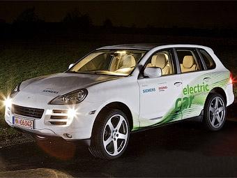 Немцы сделали из Porsche Cayenne 362-сильный электрокар