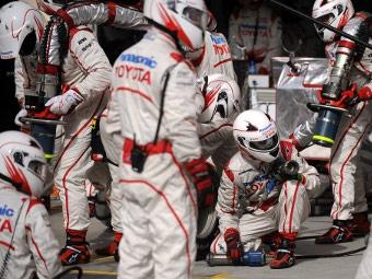 "Toyota не намерена продавать свою команду ""Формулы-1"""