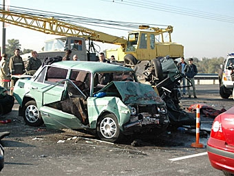 С начала года на российских дорогах погибли 24 тысячи человек