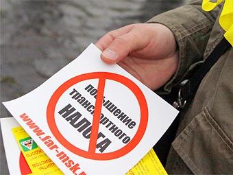 Владивостокские автомобилисты завершили голодовку