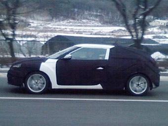 Компания Hyundai приступила к тестам преемника модели Coupe