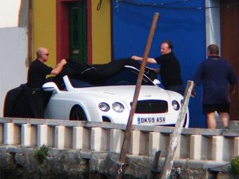 Самый быстрый и мощный Bentley лишится крыши