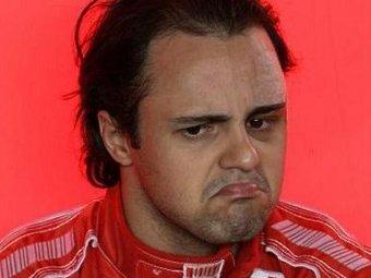 """После тестов """"Формулы-1"""" у Массы разболелась шея"""