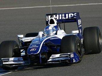 """Соучек показал лучшее время в первый день тестов """"Формулы-1"""""""