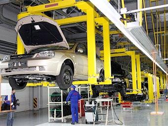 Российский завод GM приостановит работу за четыре дня до Нового года