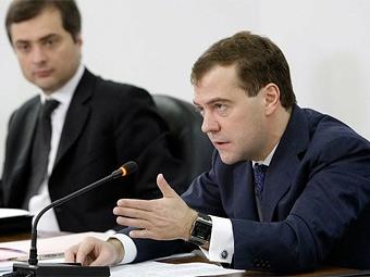 Медведев предложил возродить дорожные фонды