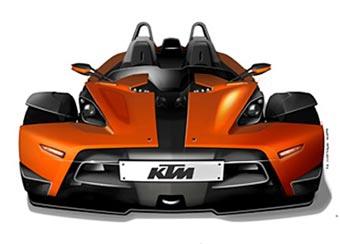 KTM показал изображения своего первого автомобиля
