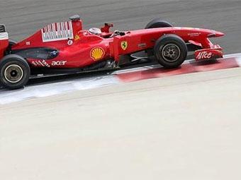 Кими Райкконен установил рекорд тестов в Бахрейне