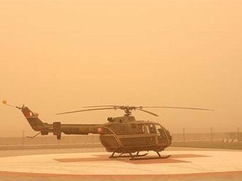 Третий день тестов в Бахрейне остановлен из-за песчаной бури