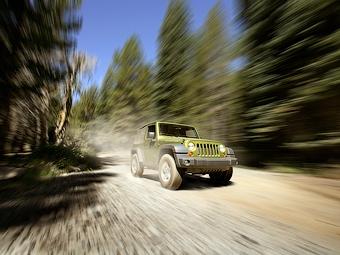 В России начались продажи внедорожника Jeep Wrangler Rubicon