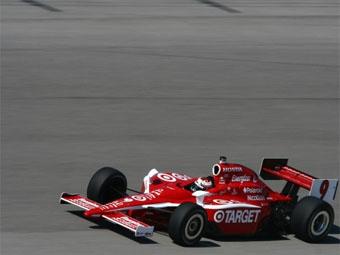 Скотт Диксон показал лучшее время на тестах IndyCar в Майами