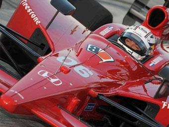 Роберт Доорнбос провел первые тесты на спидвее IndyCar Series