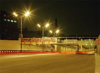 Движение в Лефортовском тоннеле ограничено до одной полосы