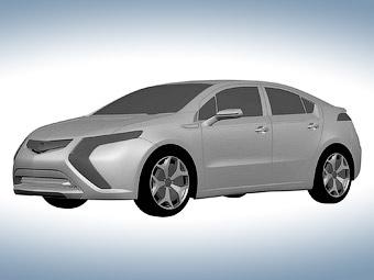 В интернете появились первые изображения серийного электрокара Opel