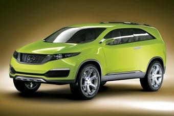 Kia представила в Корее концепт нового внедорожника