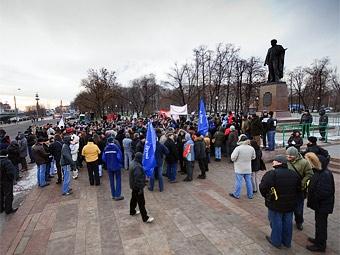 Акции протеста профсоюзов автозаводов пройдут по всей России