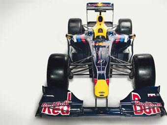 Команда Red Bull представила новый болид RB5