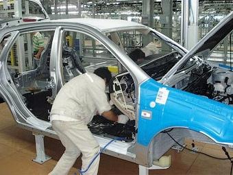 Производство автомобилей в Словакии в 2009 году резко снизится