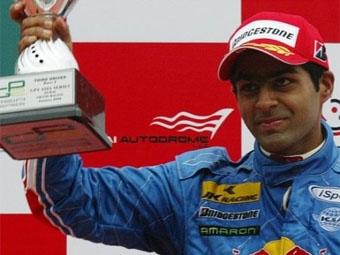 Карун Чандхок выступит в команде Тьягу Монтейру серии GP2