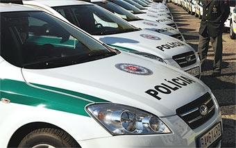 МВД Словакии закупит 4000 автомобилей Kia