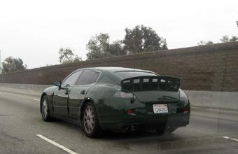 В США обнаружили Porsche с кузовом седан