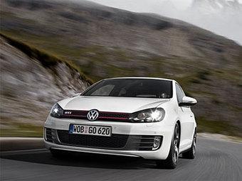 Появились первые фотографии нового VW Golf GTi