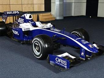 Команда Williams представила боевую раскраску нового болида