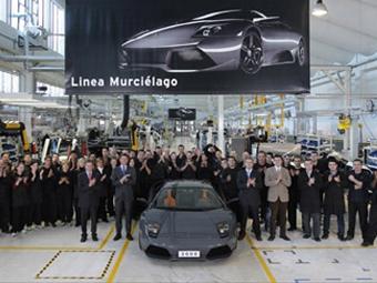 Lamborghini выпустила трехтысячную Murcielago