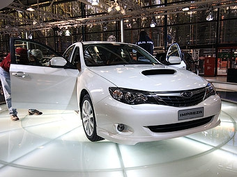 Цены на автомобили Subaru в России вырастут на 15 процентов