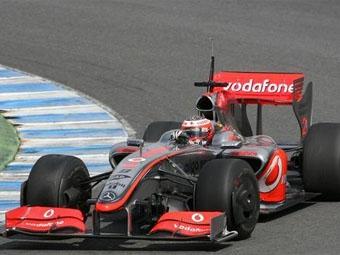 Команда McLaren готова выступать с KERS