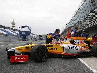 Фернандо Алонсо показал быстрейший круг в четвертый день тестов в Хересе