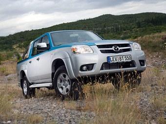 Пикап Mazda BT-50 слегка обновился