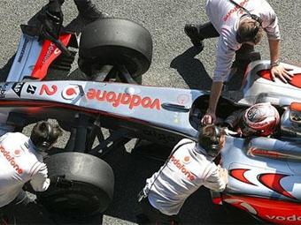 Хейкки Ковалайнен улучшил время McLaren на тестах в Хересе