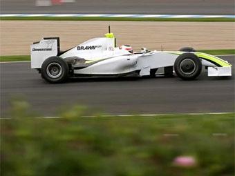 """Brawn GP лидирует в последней тестовой сессии """"Формулы-1"""""""