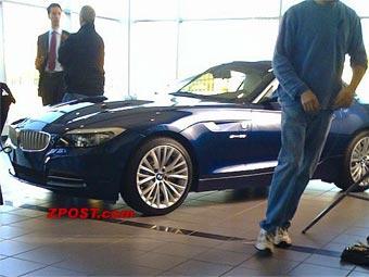 Новый BMW Z4 сфотографировали без камуфляжа