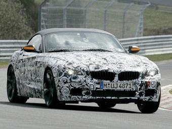 Новый BMW Z4 получит жесткую складывающуюся крышу