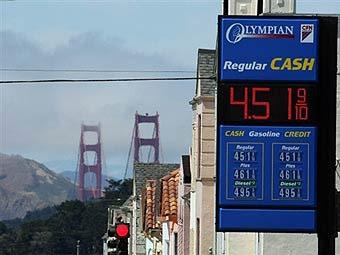В США расходы на бензин превысили расходы на автомобили