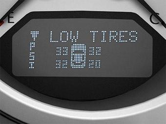 В Европе все новые машины оснастят системой контроля за давлением в шинах