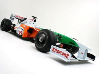 Команда Force India изменила раскраску болида